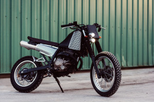 Honda NX250 Street Tracker