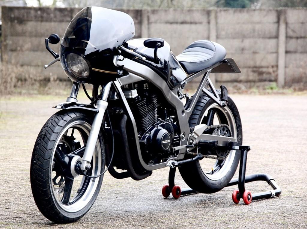 Suzuki Gs500 Cafe Racer By Motolifestyle Bikebound