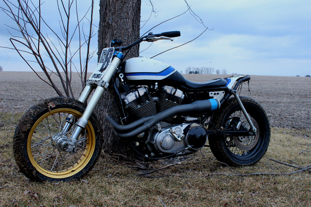 Harley Sportster Street Trackers – BikeBound