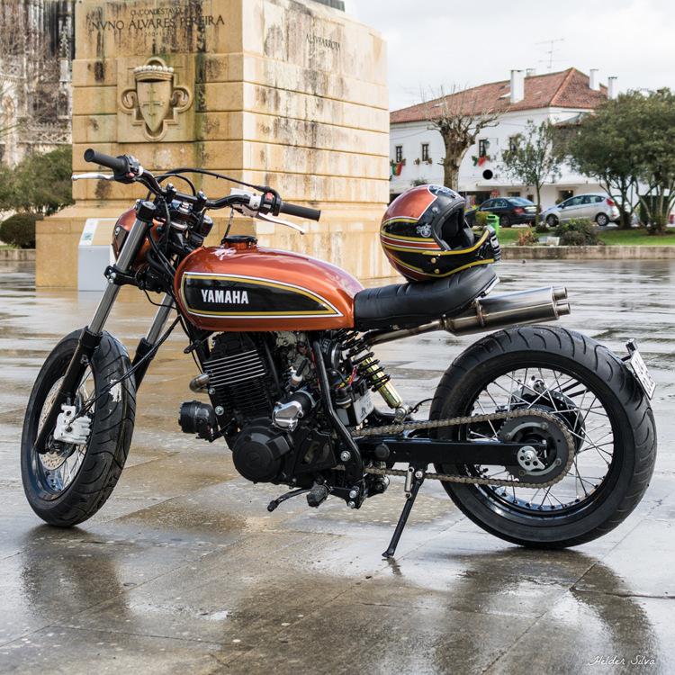 Yamaha XT600 Tracker
