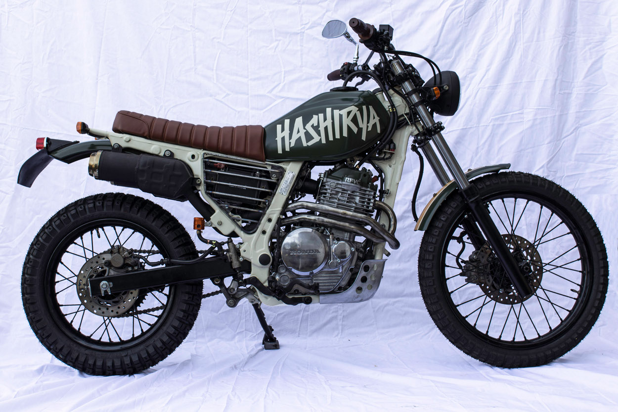 Honda Cb125 Twin By Last Century Bikes Bikebound 1970 125 Dirt Bike Nx650 Street Tracker