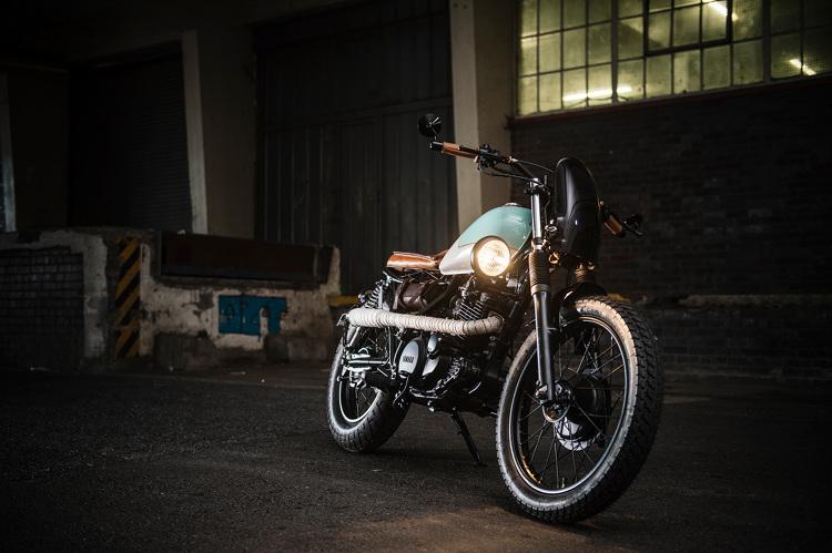 Yamaha SR250 Brat