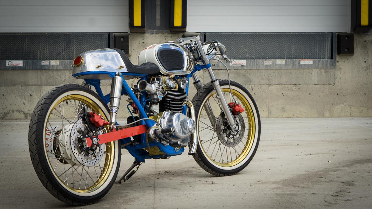 Honda Cb450 Cafe Racer Shii Bikebound