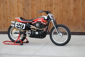 Harley Sportster Hooligan Tracker