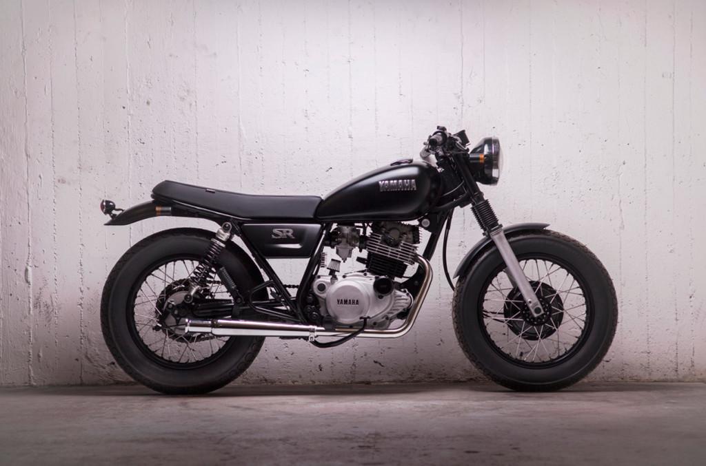 Yamaha SR250 Custom