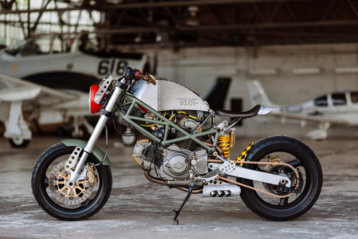 Mustang Sally Ducati Monster By Spurius Rotis Bikebound Custom Motorcycle Fuse Box Sure We Love Motorcycles Here At But Our All Time Favorite Machine Ever Created Is The North American P 51 King Long Range