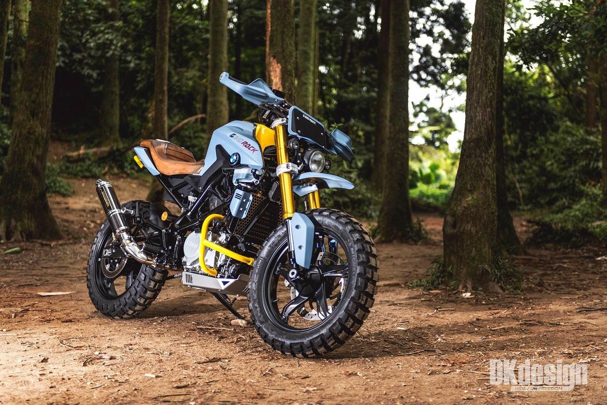 Modish BMW G310R Scrambler by DKdesign – BikeBound US76