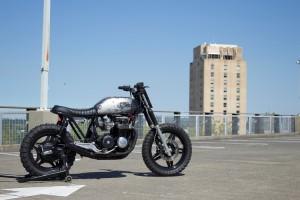 Honda CB650 Nighthawk Scrambler