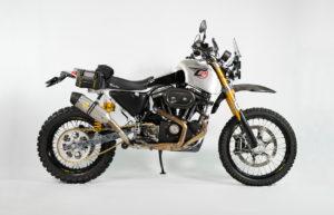 Harley Sportster Adventure Bike