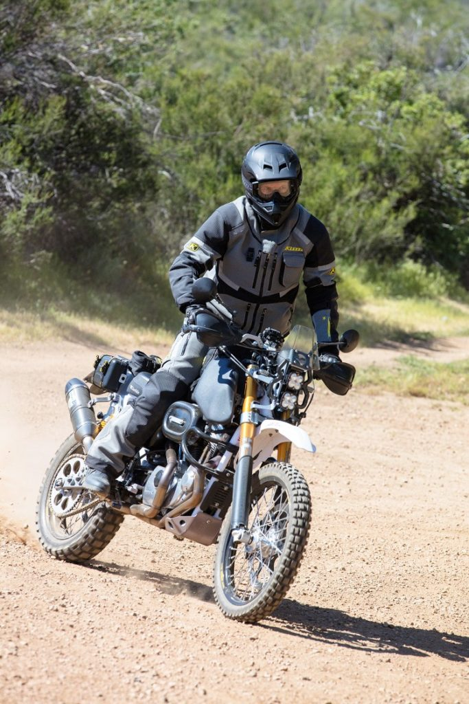 Harley Sportster Adventure Bike