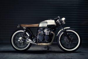 Honda CB350 Brat Cafe