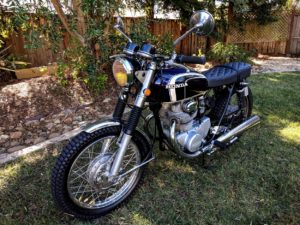 Honda CB350 Brat