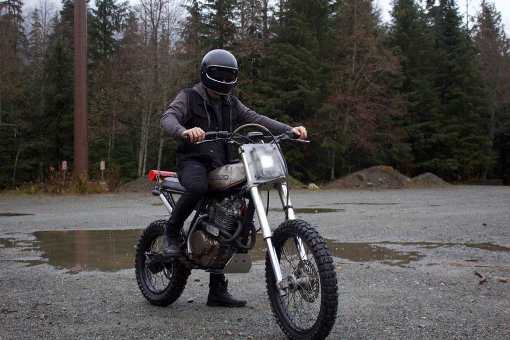 Honda XR600R Scrambler