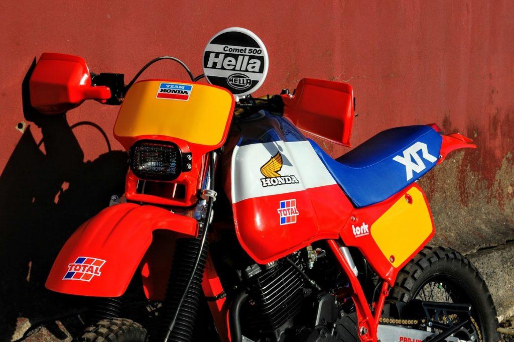 Honda XL600R Dakar Scrambler