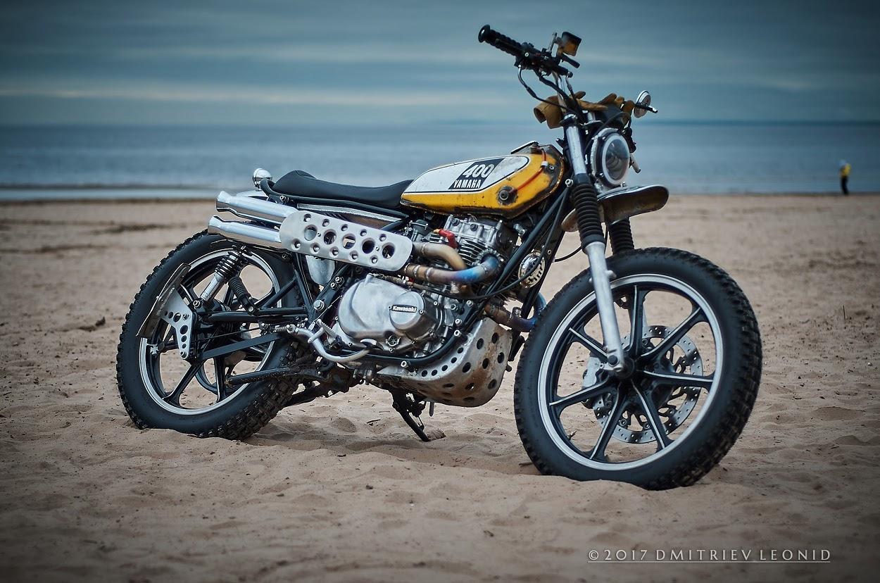 Kawasaki KZ440 Scrambler