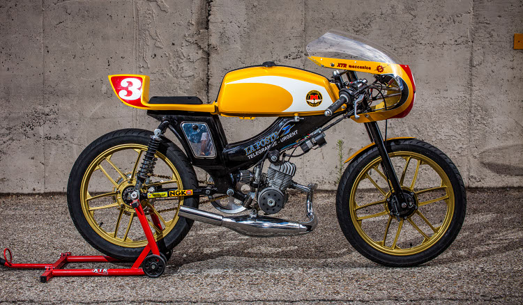 Moby SP90 Cafe Racer