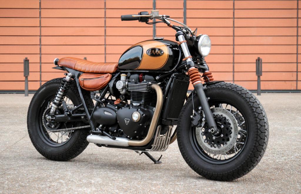 Triumph Bonneville T120 Bobber by BAAK Motocyclettes ...