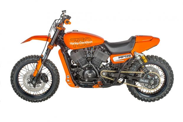 Harley Street Rod 750 Motocross