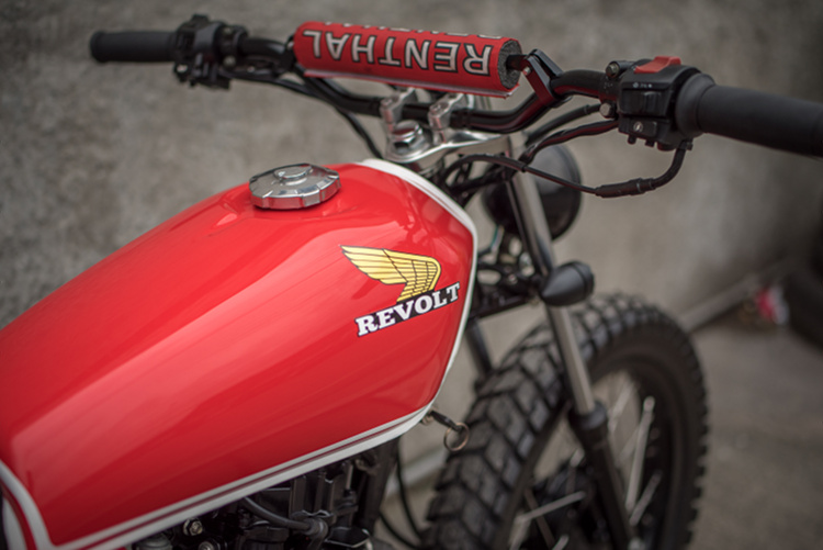 Honda TMX125 Tracker Scrambler