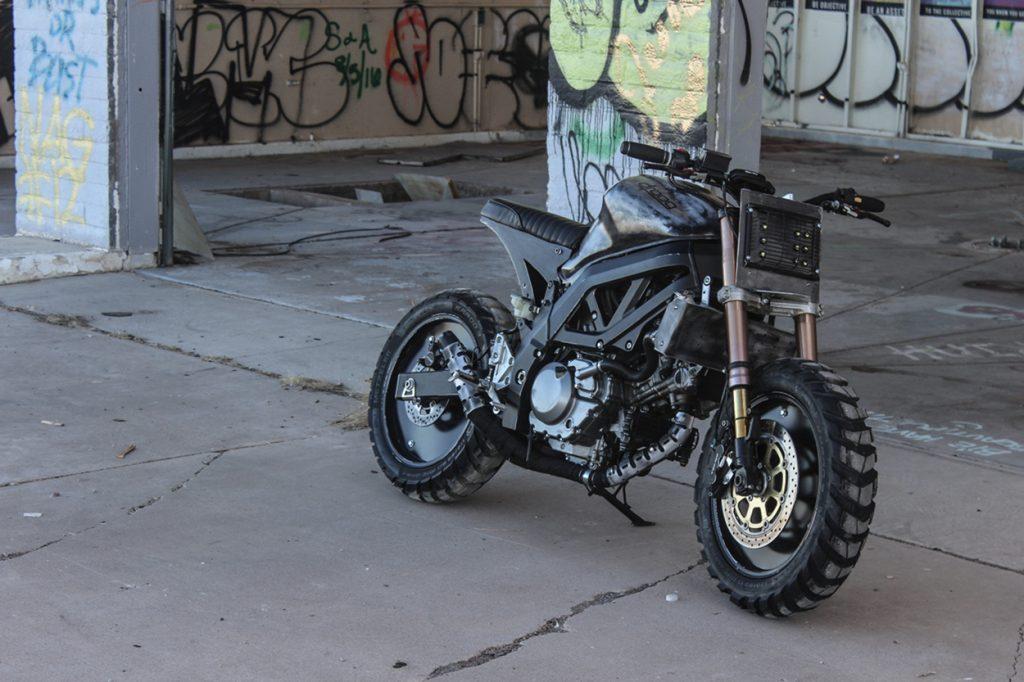 Suzuki SV650 Tracker