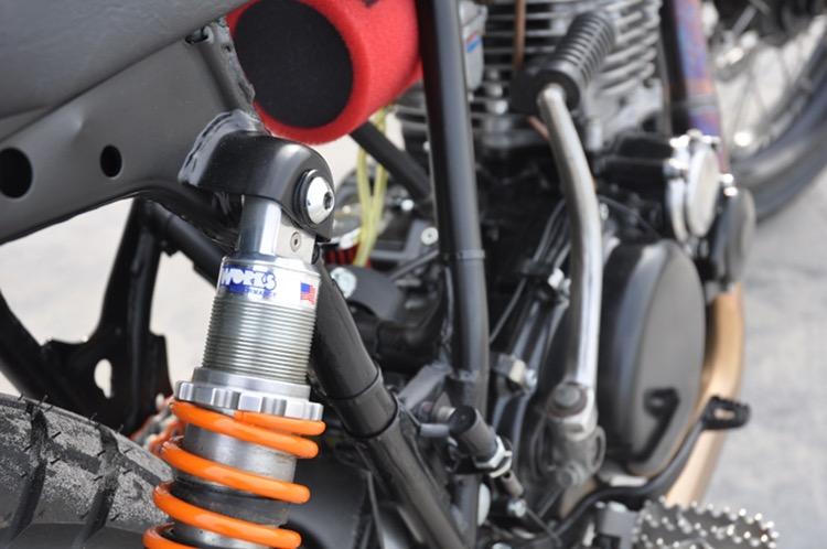 Yamaha TT500 Street Tracker