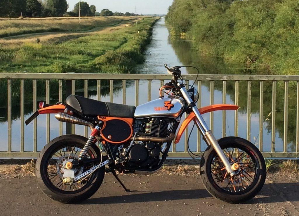 Yamaha TT500 Supermoto