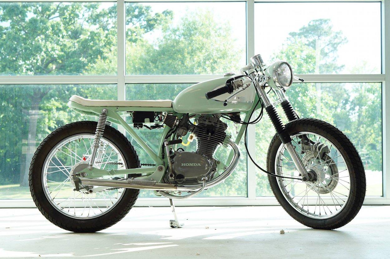 Cafe Racer Cb 125 Build Cb125 Wiring Diagram Honda Brat Biff Bikebound