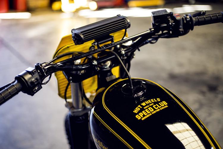 Honda XR250 Street Tracker