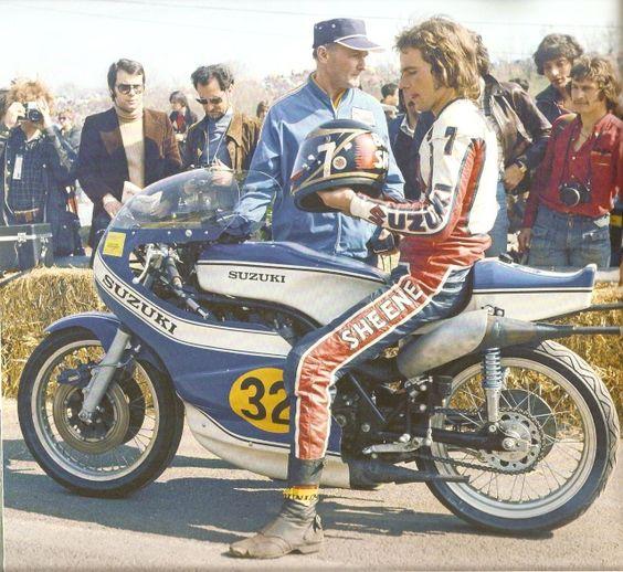 Barry Sheene Suzuki 500