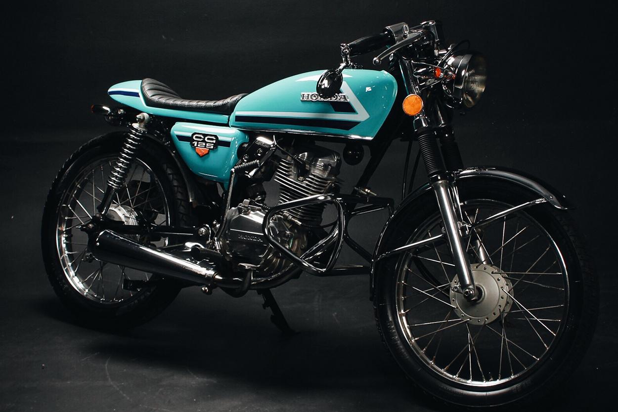 Zupełnie nowe Honda CG125 Cafe Racer by Fernando Casado – BikeBound JS56