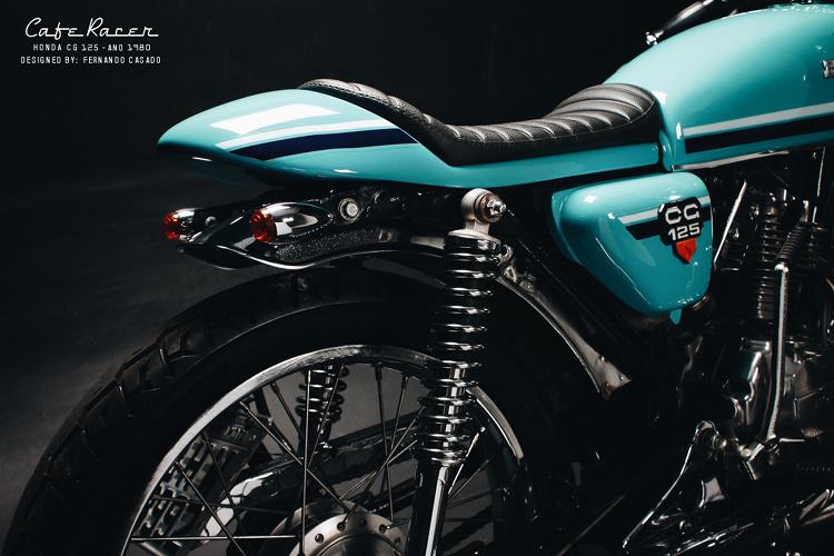 Honda CG125 Cafe Racer