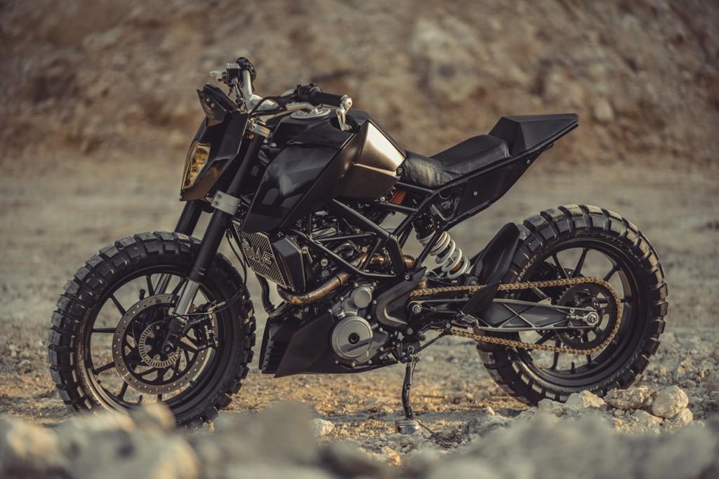 Ktm Duke 390 Tracker By Revolt Cycles Bikebound