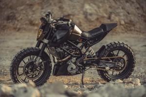 KTM Duke 390 Tracker