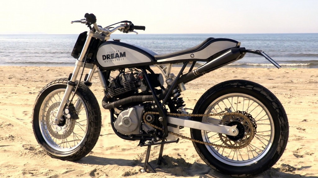 Suzuki DR600 Tracker