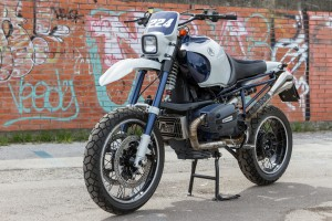 BMW R1100GS Supermoto