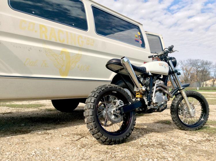 Honda XR250R Scrambler