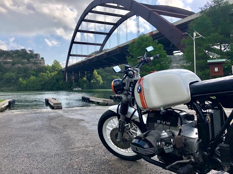 BMW R65 Tracker