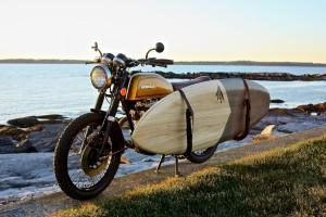Honda CB200 Brat Tracker