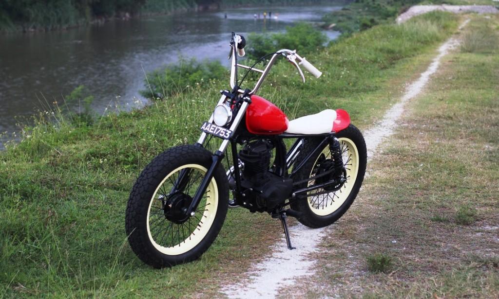Honda CG125 Bobber
