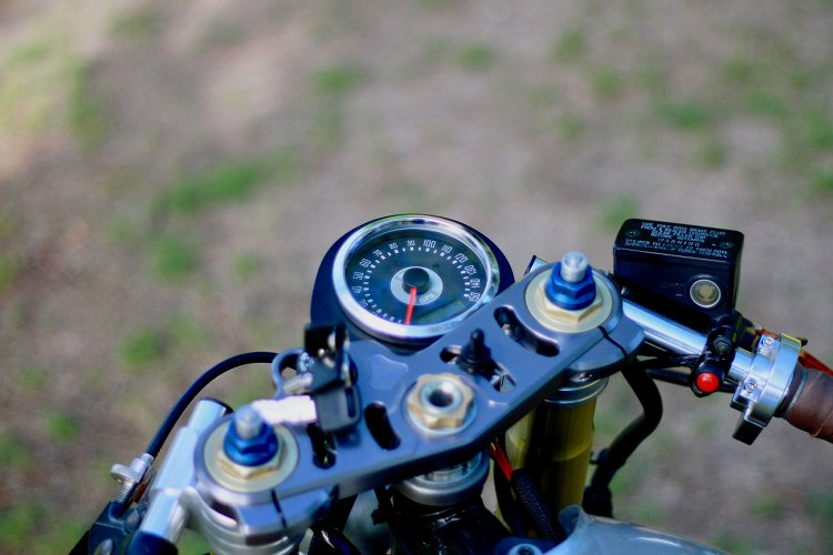 Yamaha XS650 Cafe Racer