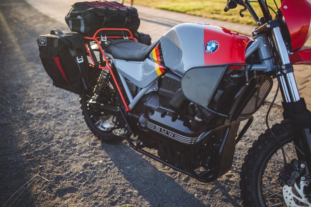 BMW K75 Adventure Touring Bike