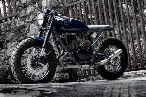 Yamaha RD350 Brat Cafe