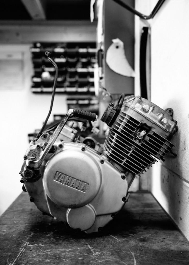 Yamaha XS400 Brat Cafe