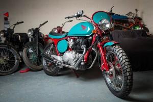 Honda CB400N SuperDream Tracker