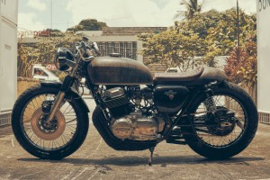 Garage Built CB750 Cafe Racer