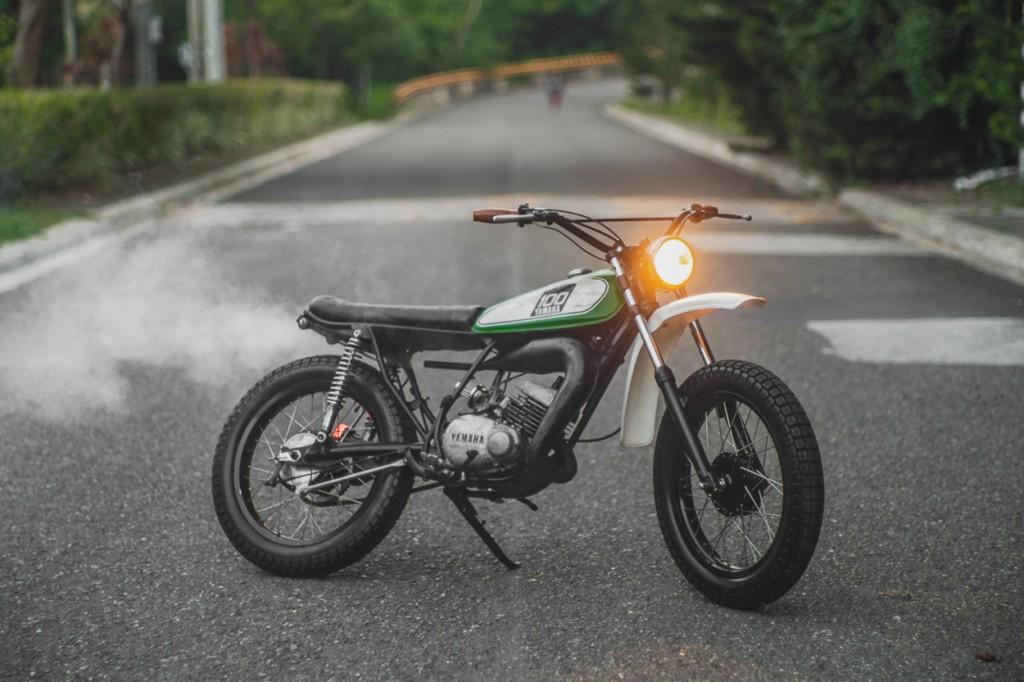 Yamaha DT100 Scrambler
