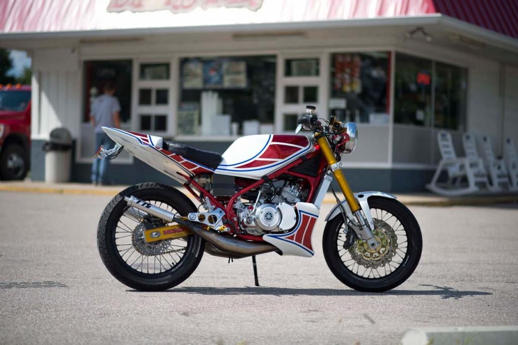 Yamaha RZ350 Custom Restomod