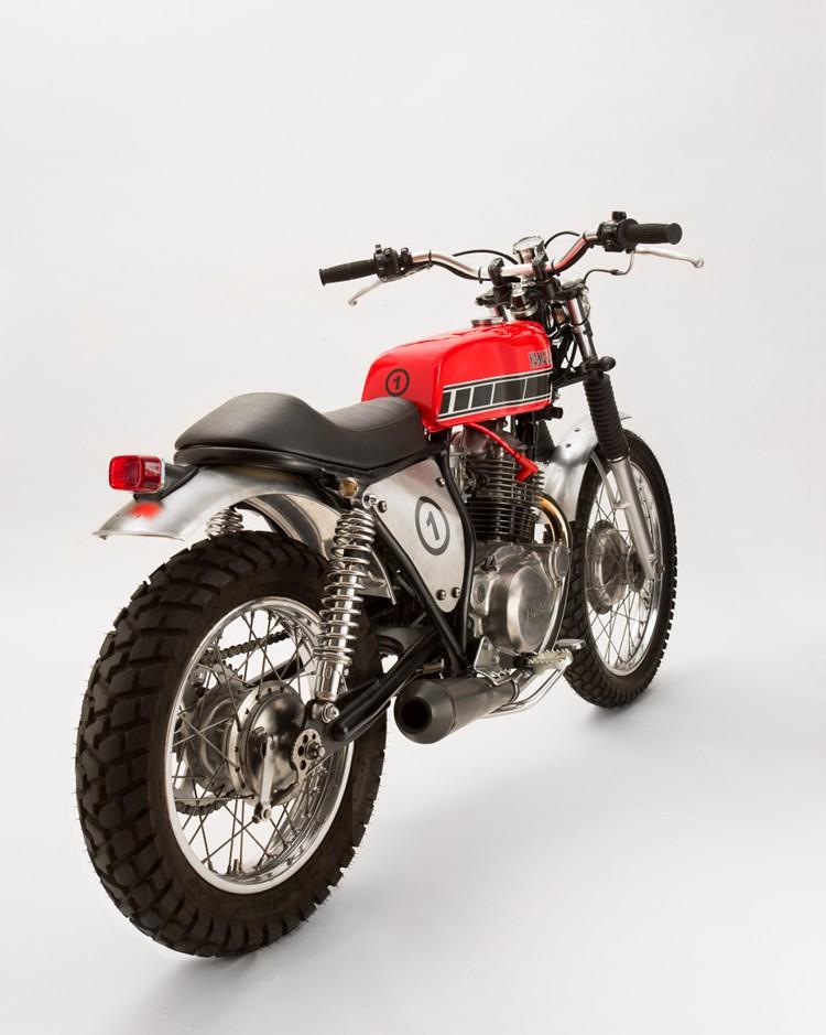Yamaha SR250 Brat Tracker