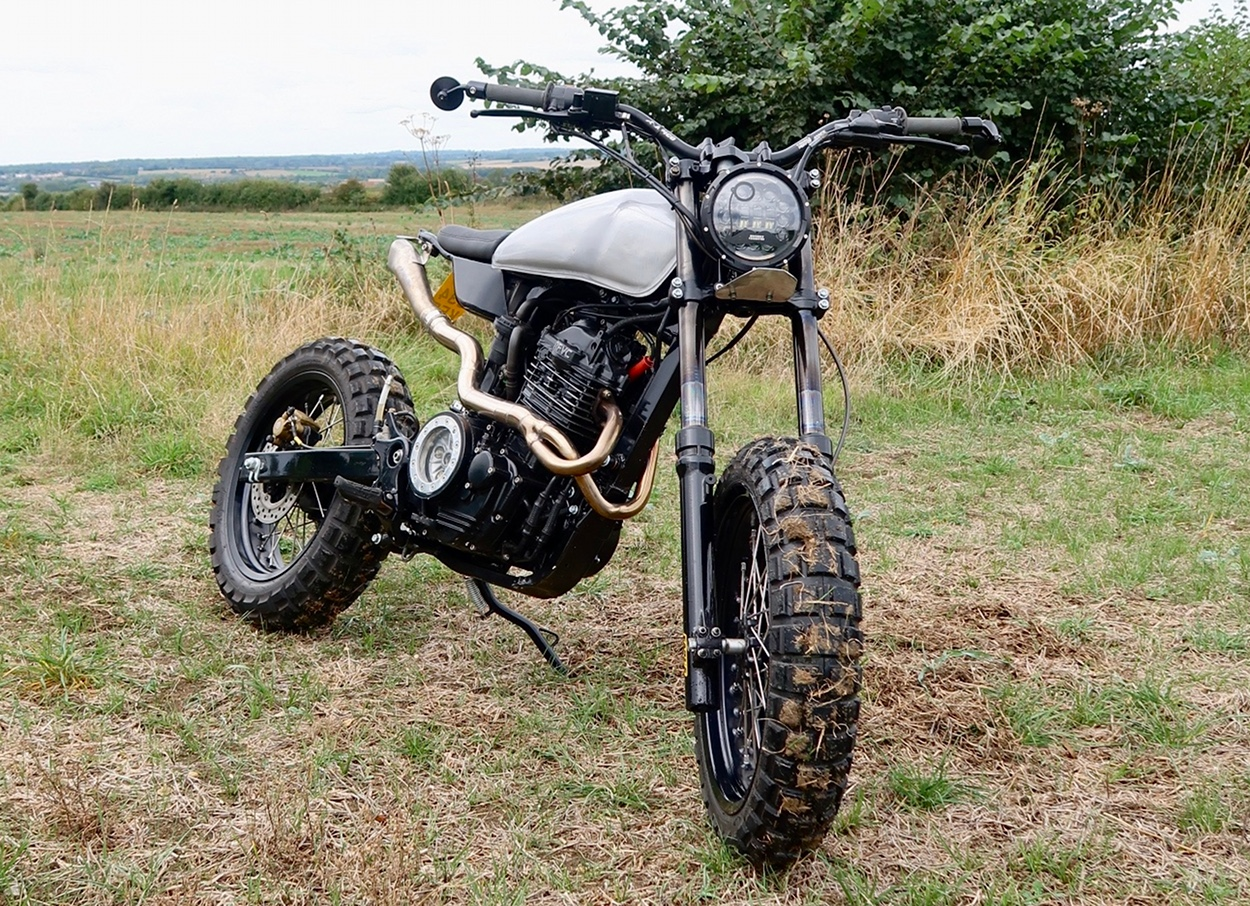 Thornton Road Honda >> Honda TMX 150 Supremo Brat Tracker by Revolt Cycles ...