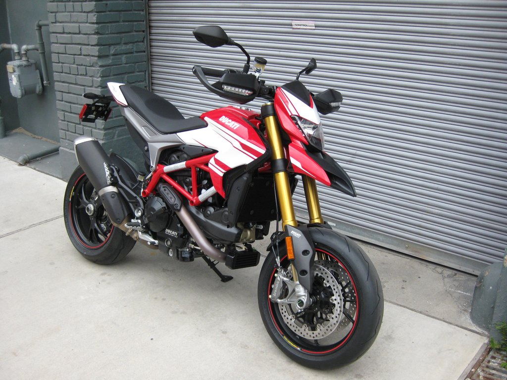 Red Sparrow Motorcycle